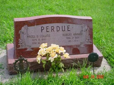 PERDUE, HAZEL D. [COLLINS] & ROBERT HARVEY - Pottawattamie County, Iowa | HAZEL D. [COLLINS] & ROBERT HARVEY PERDUE