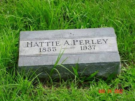 PERLEY, HATTIE A. - Pottawattamie County, Iowa | HATTIE A. PERLEY