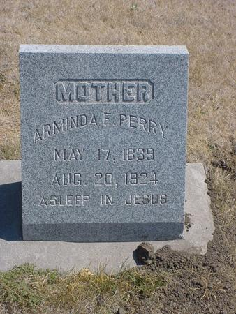 PERRY, ARMINDA E - Pottawattamie County, Iowa | ARMINDA E PERRY