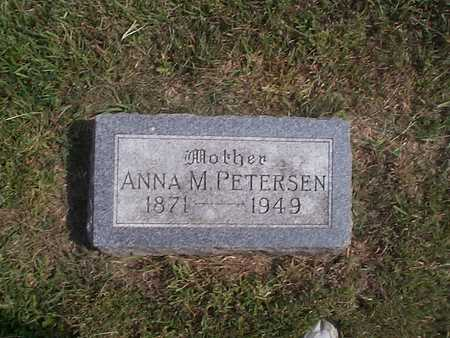 PETERSEN, ANNA M. - Pottawattamie County, Iowa | ANNA M. PETERSEN