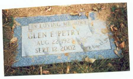 PETRY, GLEN E. - Pottawattamie County, Iowa | GLEN E. PETRY