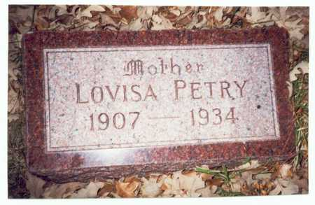 PETRY, LOVISA - Pottawattamie County, Iowa | LOVISA PETRY