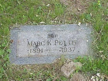 PETTIT, MARC K. - Pottawattamie County, Iowa | MARC K. PETTIT