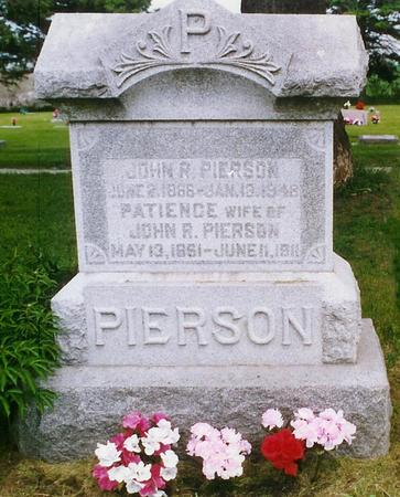 PIERSON, PATIENCE - Pottawattamie County, Iowa | PATIENCE PIERSON