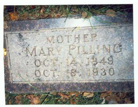 PILLING, MARY - Pottawattamie County, Iowa | MARY PILLING