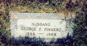 PINHERO, GEORGE F. - Pottawattamie County, Iowa | GEORGE F. PINHERO