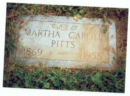 PITTS, MARTHA CARLILE - Pottawattamie County, Iowa | MARTHA CARLILE PITTS