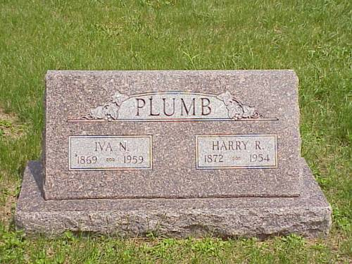 PLUMB, IVA N. & HARRY R. - Pottawattamie County, Iowa | IVA N. & HARRY R. PLUMB