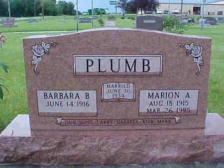 PLUMB, BARBARA - Pottawattamie County, Iowa | BARBARA PLUMB