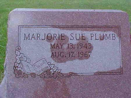 PLUMB, MARJORIE - Pottawattamie County, Iowa | MARJORIE PLUMB