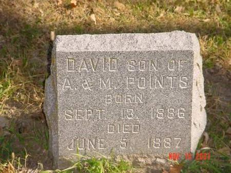 POINTS, DAVID - Pottawattamie County, Iowa | DAVID POINTS