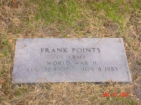 POINTS, FRANK - Pottawattamie County, Iowa   FRANK POINTS