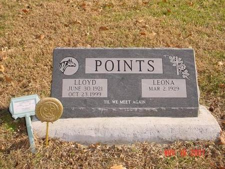 POINTS, LLOYD & LEONA - Pottawattamie County, Iowa | LLOYD & LEONA POINTS