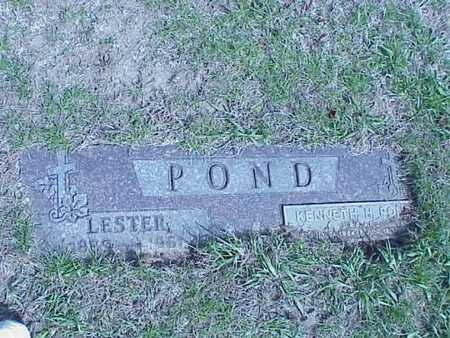 POND, LESTER & KENNETH H. - Pottawattamie County, Iowa | LESTER & KENNETH H. POND