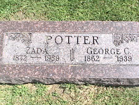 POTTER, GEORGE CHRISTOPHER - Pottawattamie County, Iowa | GEORGE CHRISTOPHER POTTER