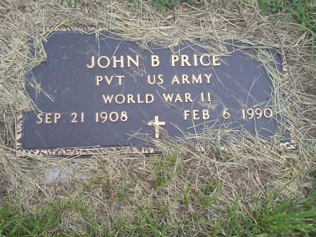 PRICE, JOHN B. - Pottawattamie County, Iowa | JOHN B. PRICE
