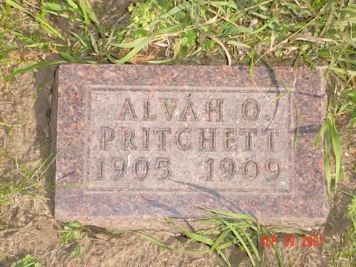 PRITCHETT, ALVAH O. - Pottawattamie County, Iowa | ALVAH O. PRITCHETT