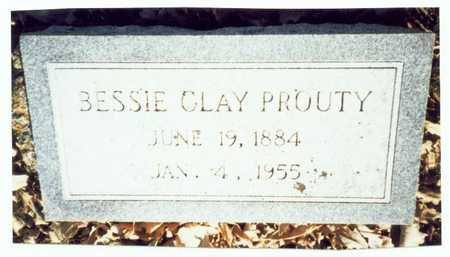 CLAY PROUTY, BESSIE MAY - Pottawattamie County, Iowa | BESSIE MAY CLAY PROUTY