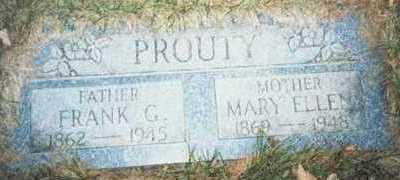 PROUTY, FRANK G. - Pottawattamie County, Iowa | FRANK G. PROUTY