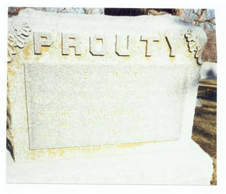 HULL PROUTY, ESTHER JANE - Pottawattamie County, Iowa | ESTHER JANE HULL PROUTY