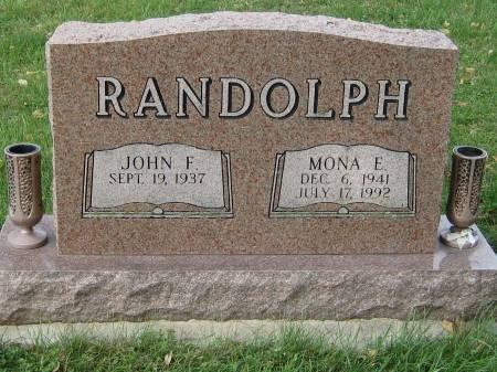 RANDOLPH, MONA E. - Pottawattamie County, Iowa | MONA E. RANDOLPH