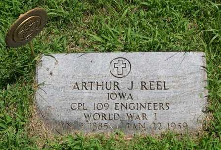 REEL, ARTHUR J. - Pottawattamie County, Iowa | ARTHUR J. REEL