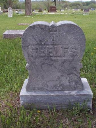 REELFS, HEADSTONE - Pottawattamie County, Iowa | HEADSTONE REELFS