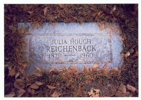 HOUGH REICHENBACK, JULIA - Pottawattamie County, Iowa | JULIA HOUGH REICHENBACK