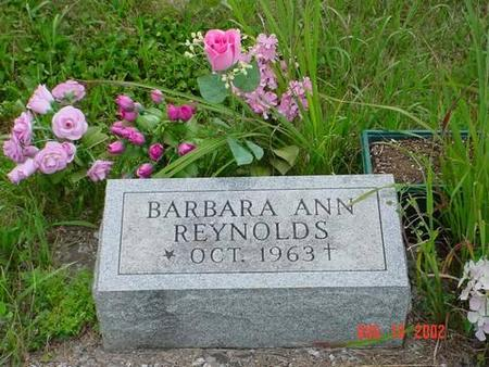 REYNOLDS, BARBARA ANN - Pottawattamie County, Iowa | BARBARA ANN REYNOLDS
