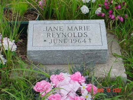 REYNOLDS, JANE MARIE - Pottawattamie County, Iowa | JANE MARIE REYNOLDS