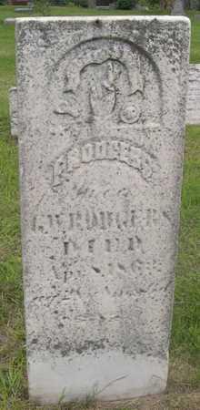 RODGERS, E. - Pottawattamie County, Iowa | E. RODGERS