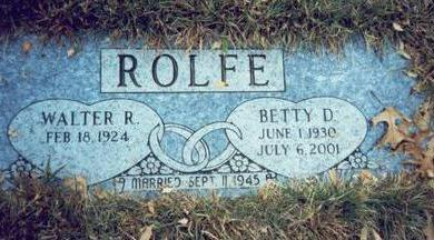 BELT ROLFE, BETTY D. - Pottawattamie County, Iowa | BETTY D. BELT ROLFE