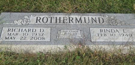 ROTHERMUND, RICHARD D. - Pottawattamie County, Iowa   RICHARD D. ROTHERMUND