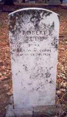 RUDE, ROBERT - Pottawattamie County, Iowa | ROBERT RUDE