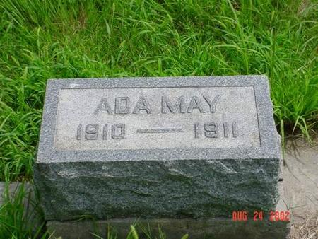 RUSH, ADA MAY - Pottawattamie County, Iowa | ADA MAY RUSH