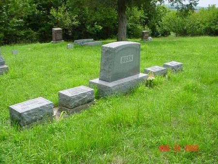 RUSH, WILLIAM & LAURA A. [PLOT] - Pottawattamie County, Iowa | WILLIAM & LAURA A. [PLOT] RUSH