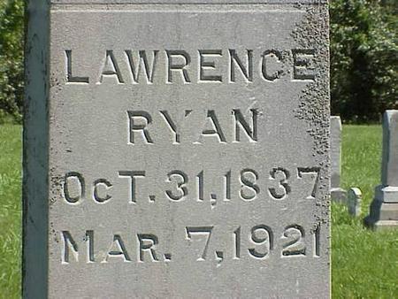 RYAN, LAWRENCE - Pottawattamie County, Iowa   LAWRENCE RYAN