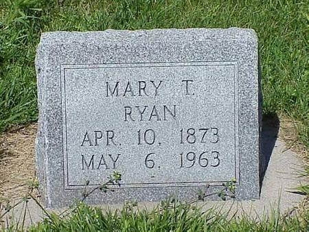 RYAN, MARY T. - Pottawattamie County, Iowa | MARY T. RYAN