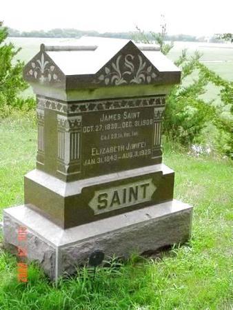 SAINT, JAMES & ELIZABETH J. - Pottawattamie County, Iowa | JAMES & ELIZABETH J. SAINT