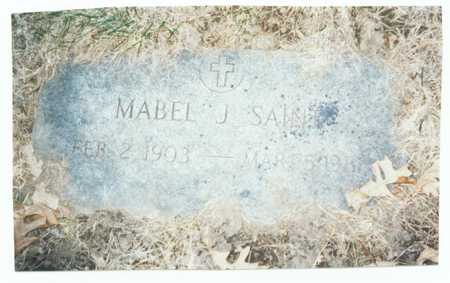 SAINT, MABEL J. - Pottawattamie County, Iowa | MABEL J. SAINT
