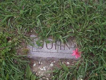 SALES, JOHN - Pottawattamie County, Iowa   JOHN SALES