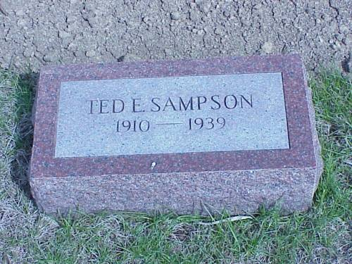 SAMPSON, TED E. - Pottawattamie County, Iowa | TED E. SAMPSON