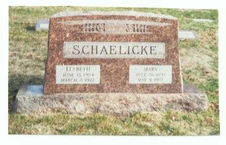 SCHAELICKE, ELSBETH - Pottawattamie County, Iowa | ELSBETH SCHAELICKE