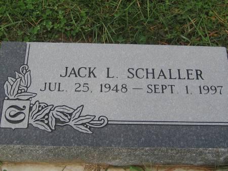 SCHALLER, JACK L. - Pottawattamie County, Iowa | JACK L. SCHALLER