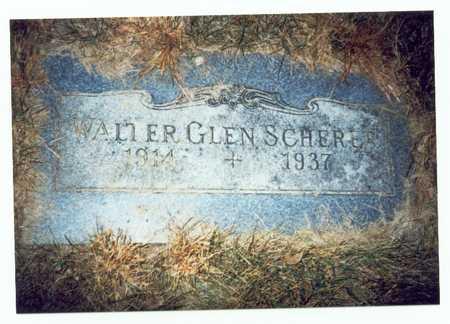 SCHERER, WALTER GLEN - Pottawattamie County, Iowa | WALTER GLEN SCHERER