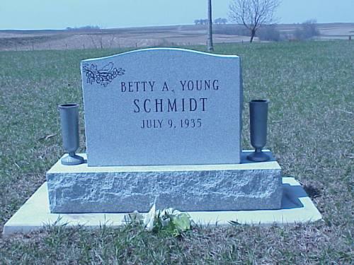 SCHMIDT, BETTY A. YOUNG - Pottawattamie County, Iowa | BETTY A. YOUNG SCHMIDT
