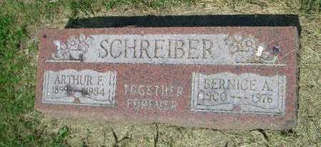 SCHREIBER, ARTHUR F - Pottawattamie County, Iowa | ARTHUR F SCHREIBER
