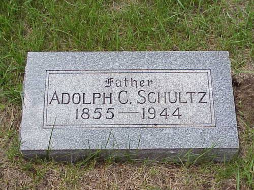 SCHULTZ, ADOLPH - Pottawattamie County, Iowa | ADOLPH SCHULTZ