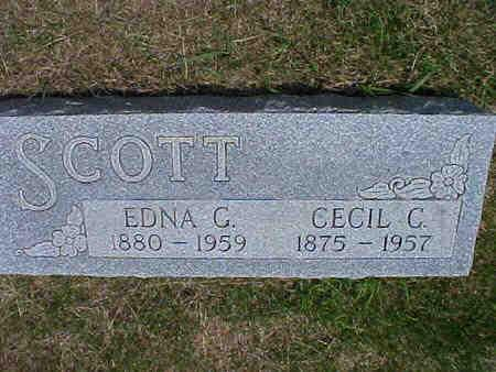 SCOTT, CECIL C. - Pottawattamie County, Iowa | CECIL C. SCOTT