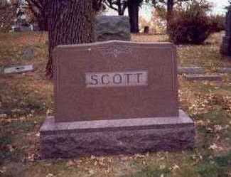 SCOTT, FAMILY MARKER - Pottawattamie County, Iowa | FAMILY MARKER SCOTT